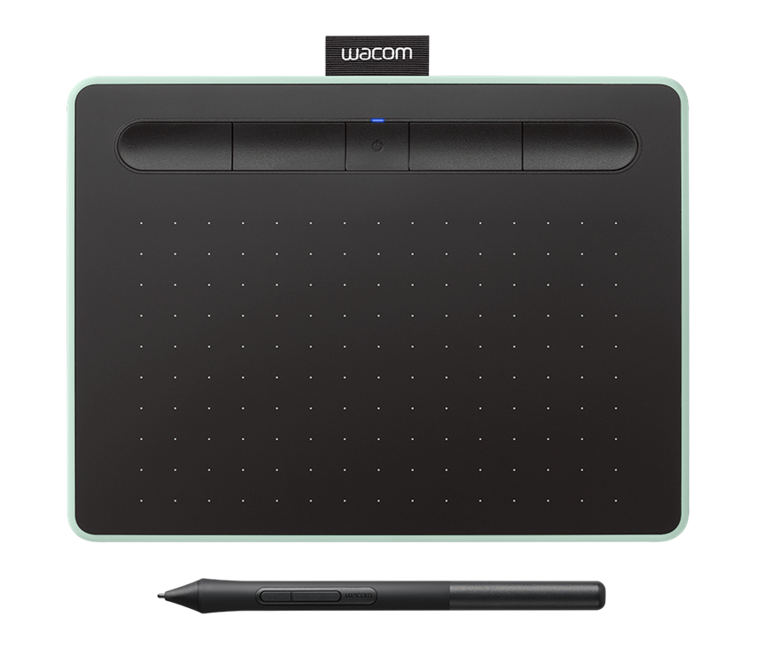 Wacom Intuos S Bluetooth Sort Grøn