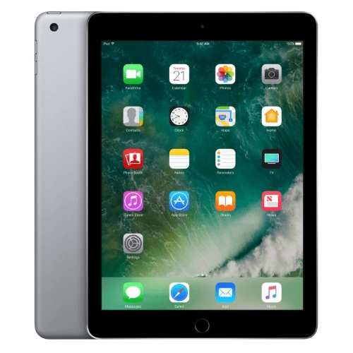 iPad 9.7(2017) 132GB +4G Space Grey Grade A++