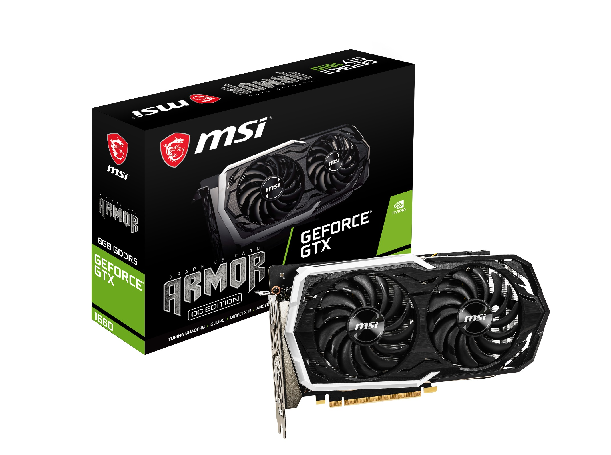 MSI GTX 1660 GAMING X 6G 6GB GDDR5