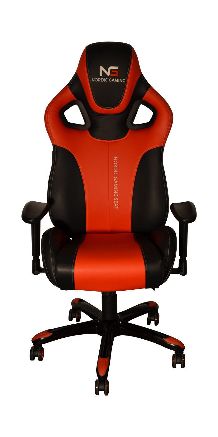 Nordic Gaming Performance Chair Red Black