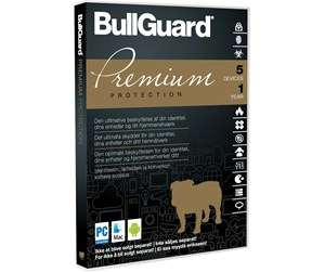 BullGuard Premium Protection 1Y/5Device ESD