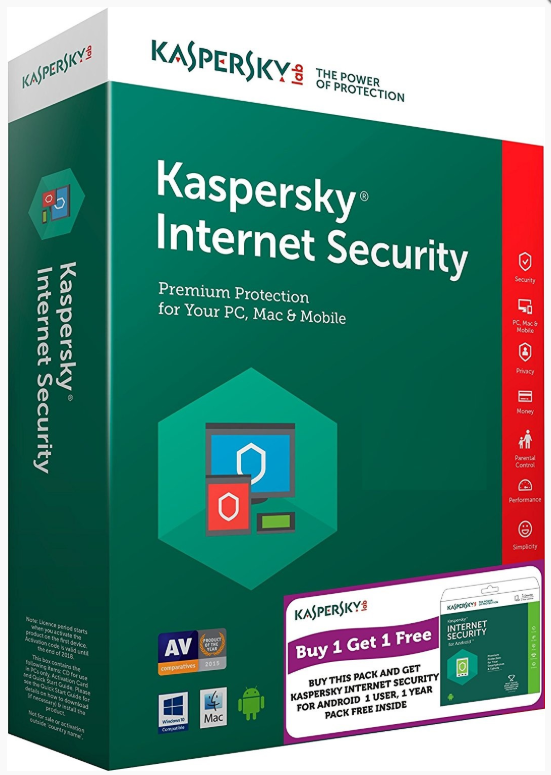 Kaspersky Internet Security 2019 5u/1y OEM