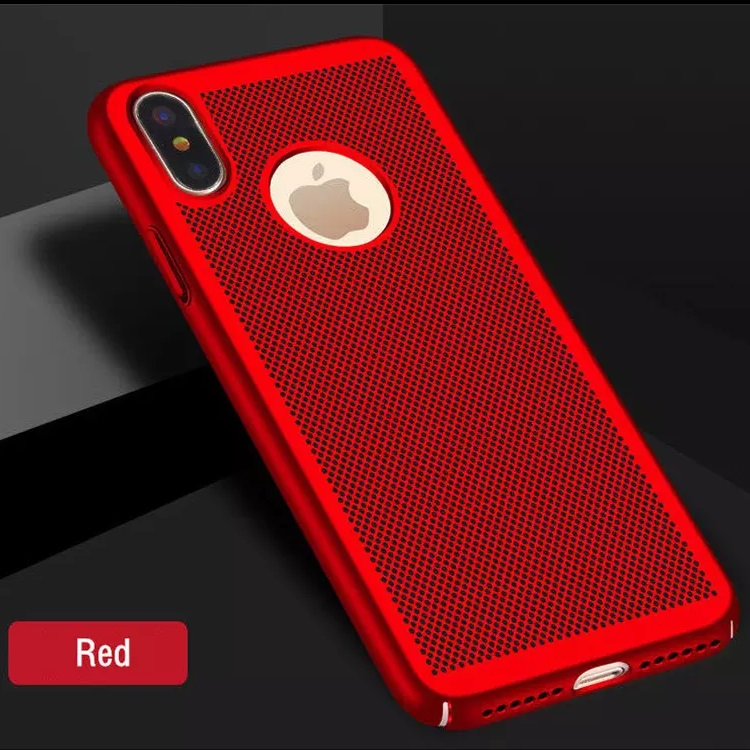 iPhone X Heat Dissipation Cover Red