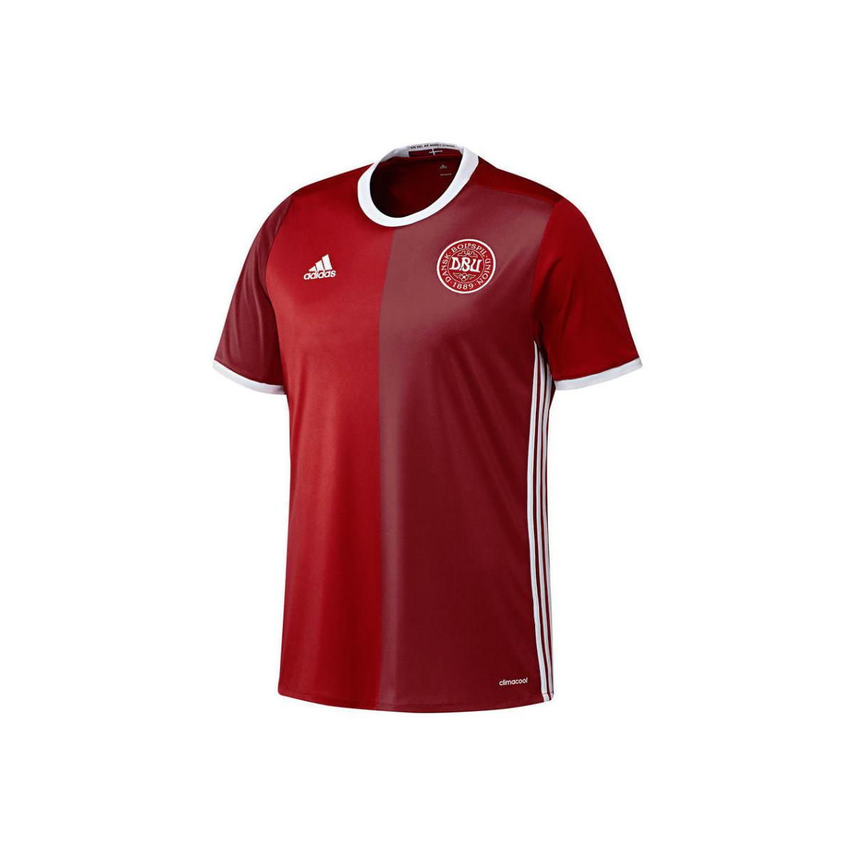 Adidas DBU T-Shirt slim red L