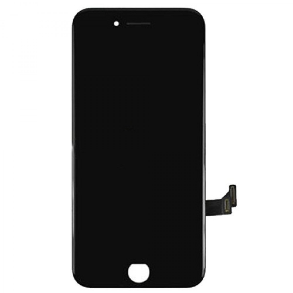iPhone 7 LCD Assembly Black, Complete - OEM