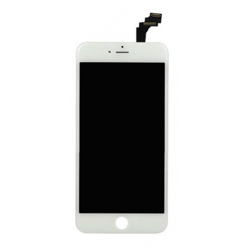 iPhone 6 Plus LCD Assembly White EBS - Kompatibel
