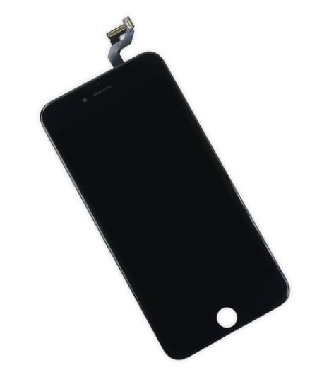 iPhone 6S+ LCD Assembly Black - Kompatibel