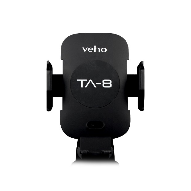 Veho TA-8 Universal in-car smartphone cradle with built in Qi wireless fast charging