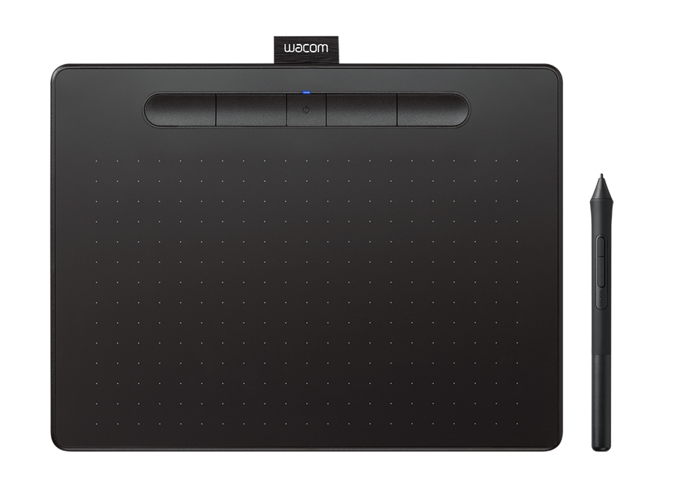 Wacom Intuos M Bluetooth Sort
