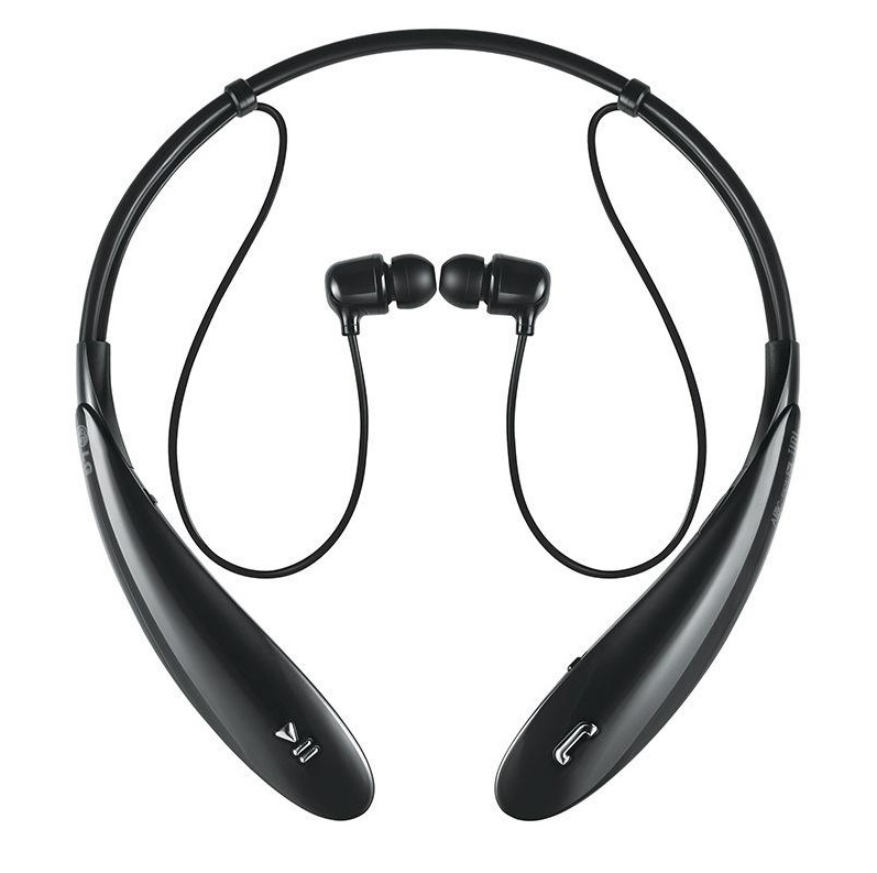 Wireless Sport Bluetooth headphone black