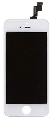 iPhone 5S Complete LCD Display Touch White A-Grade