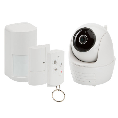 SecuFirst Alarmsystem with IP camera P/T 1080P