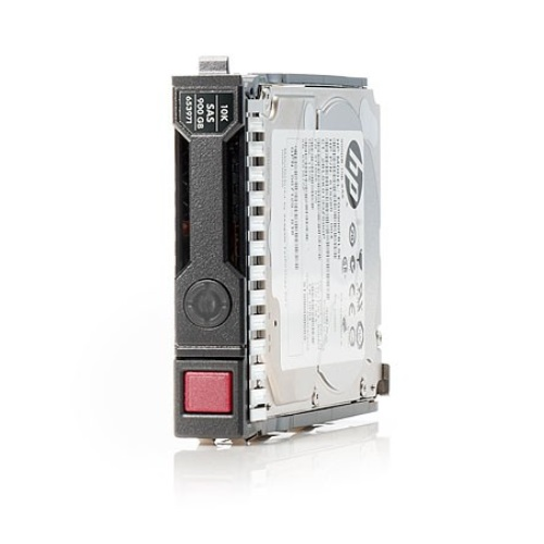 HP Dual Port Enterprise - Harddisk - 900 GB - hot-swap - 2.5' SFF - SAS 6Gb/s - 10000 rpm - remarketed