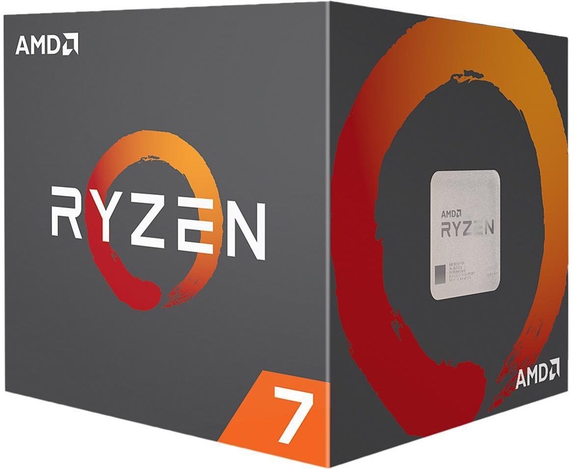 AMD CPU Ryzen 7 2700X 3.7GHz 8 kerner  AM4