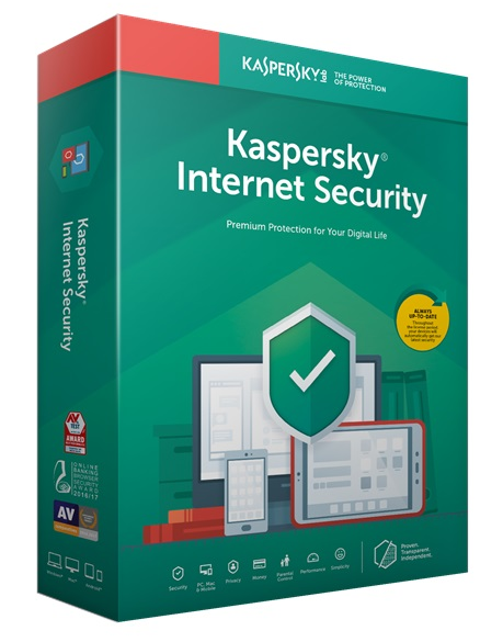 Kaspersky Internet Security 2019 3u/1y OEM