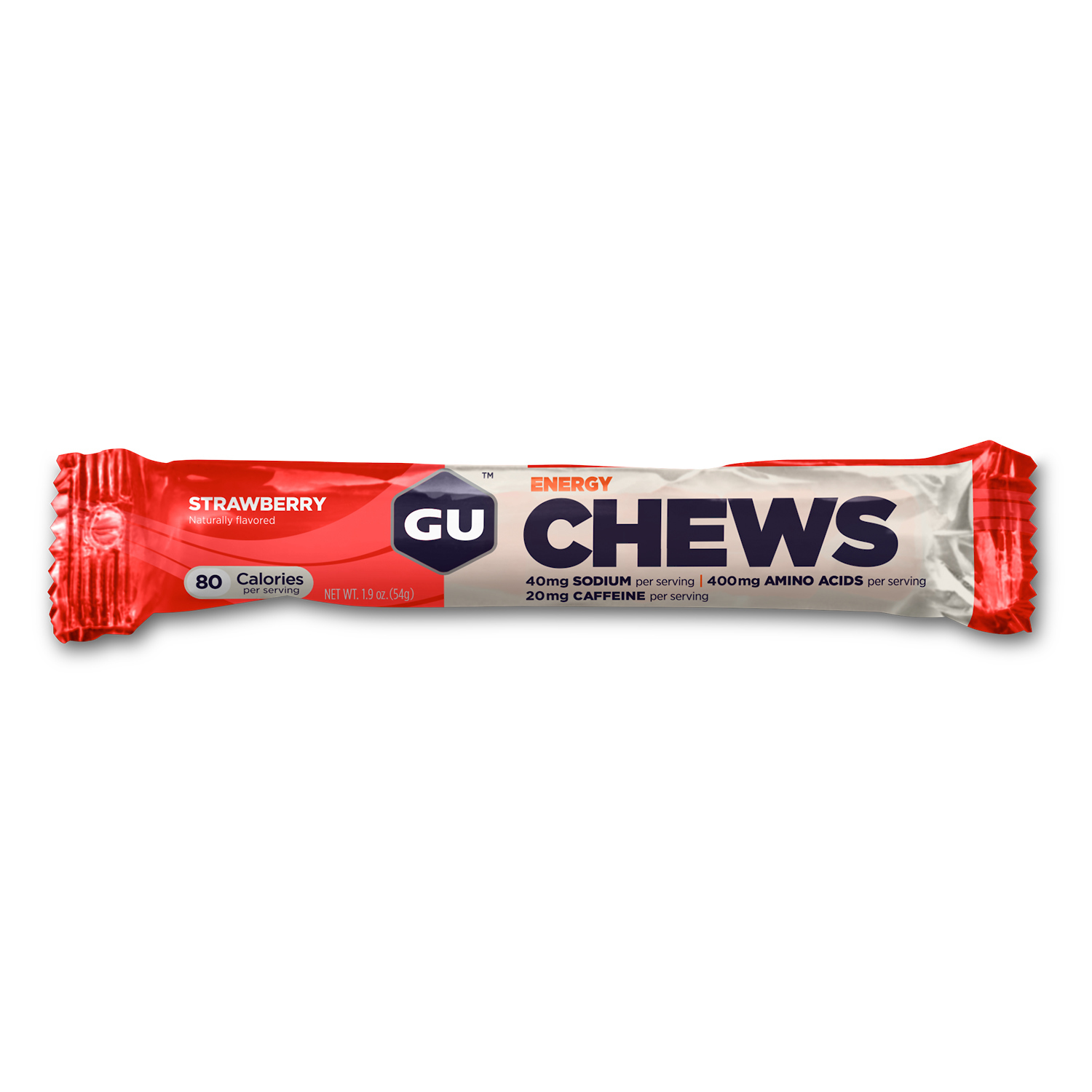 Strawberry, Chews, 18 Pkt Box (Double serve)