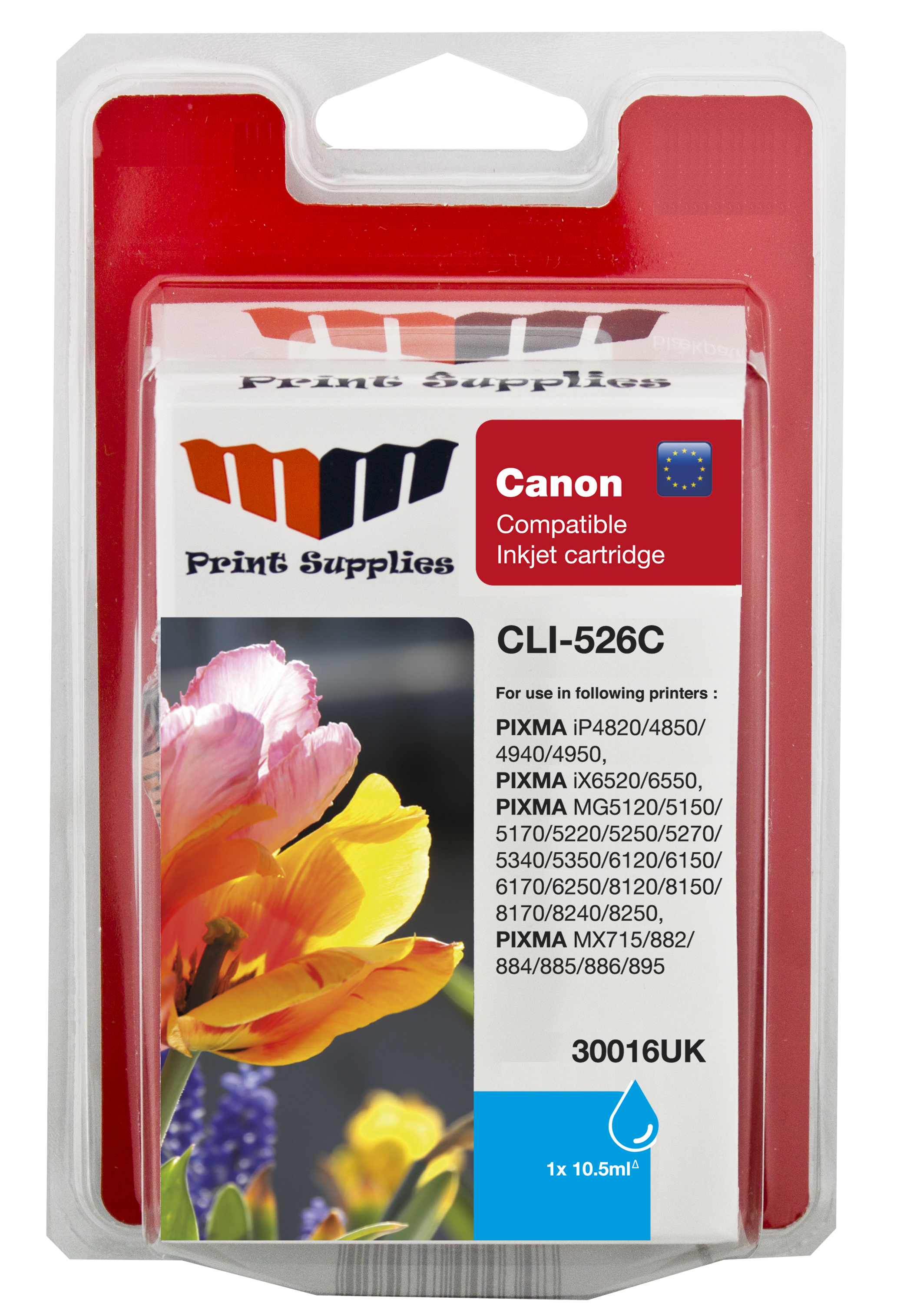 Cyan Inkjet Cartridge (CLI-526C)