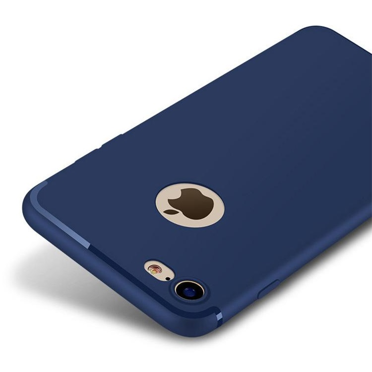 iPhone 7/8 Matte Soft Cover Navy Blue