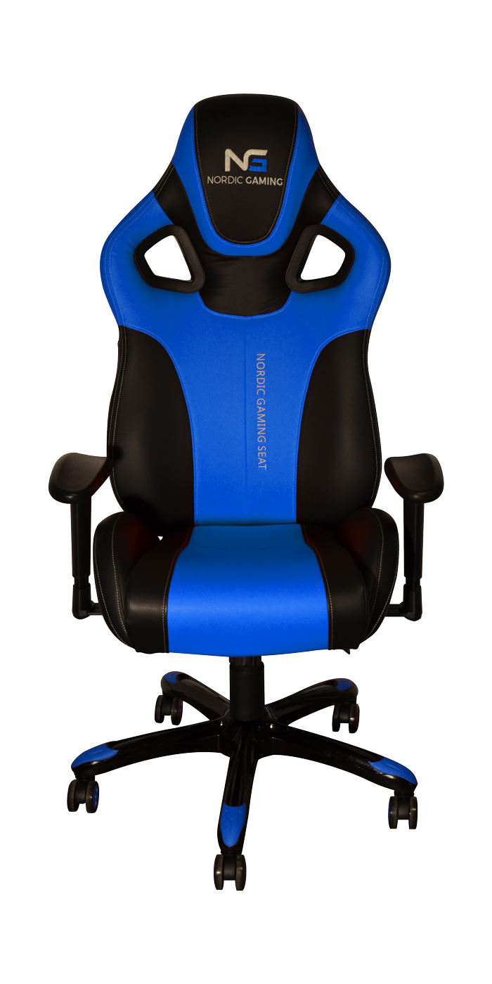 Nordic Gaming Performance Chair Blue Black