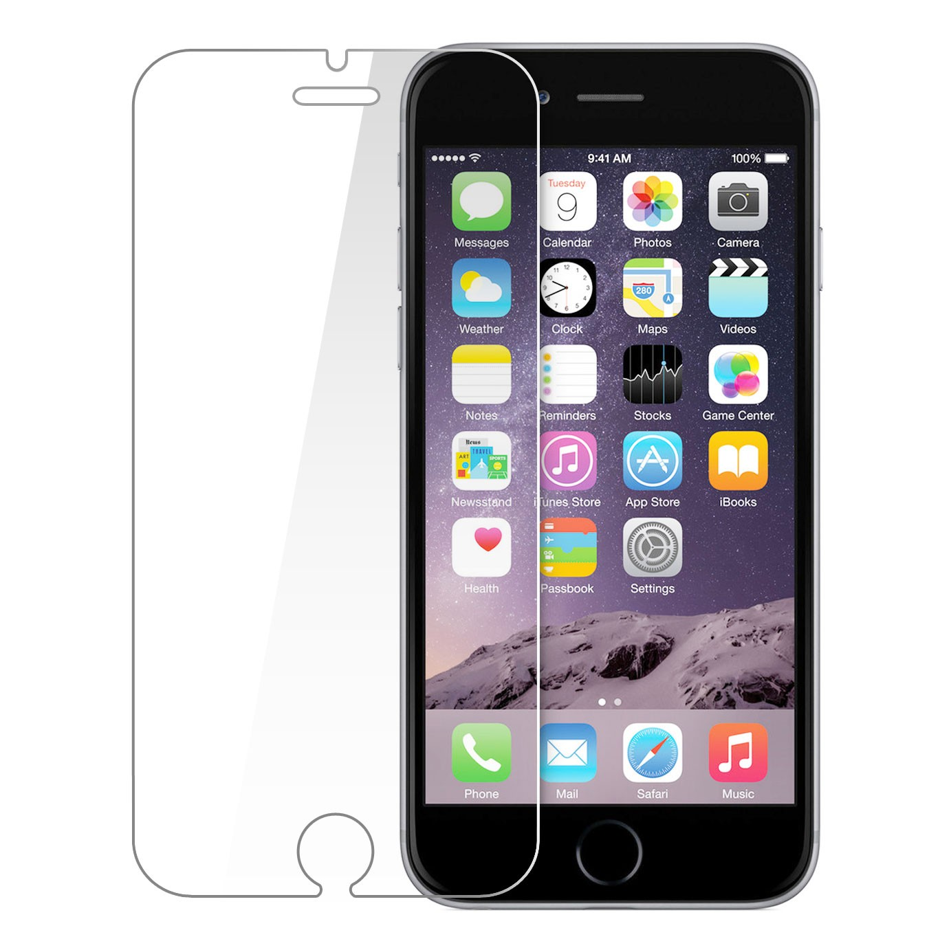 VMax Glass 2.5D Tempered Glass iPhone 6/6s/7/8