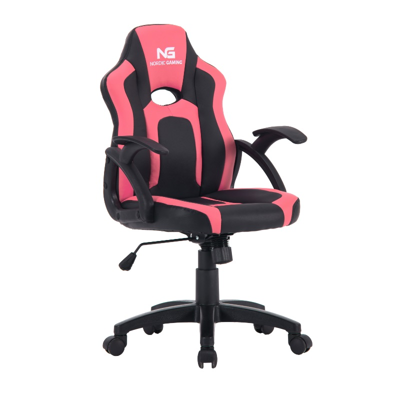 Nordic Gaming Little Warrior Gaming Chair Black Pink