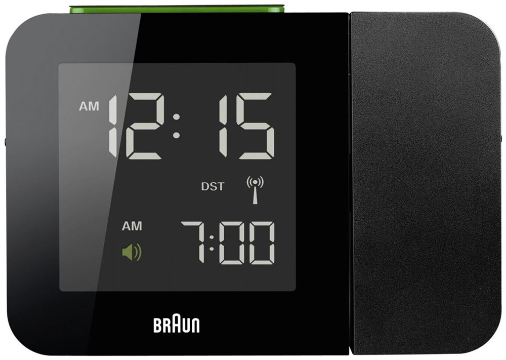 Braun BNC 015 Projection Clock black