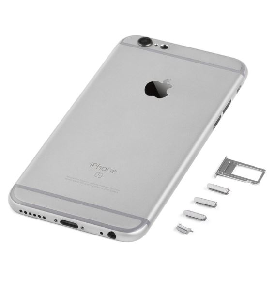 iPhone 6S Kompatibelt bagcover Spacegrey