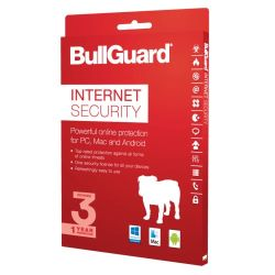 BullGuard Internet Security 2018 - 1Y/3 PC WIN ESD