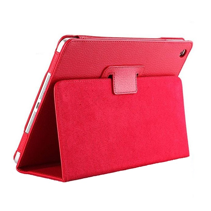 iPad Smart Case Flip Cover PU Leather 2017/2018 Red