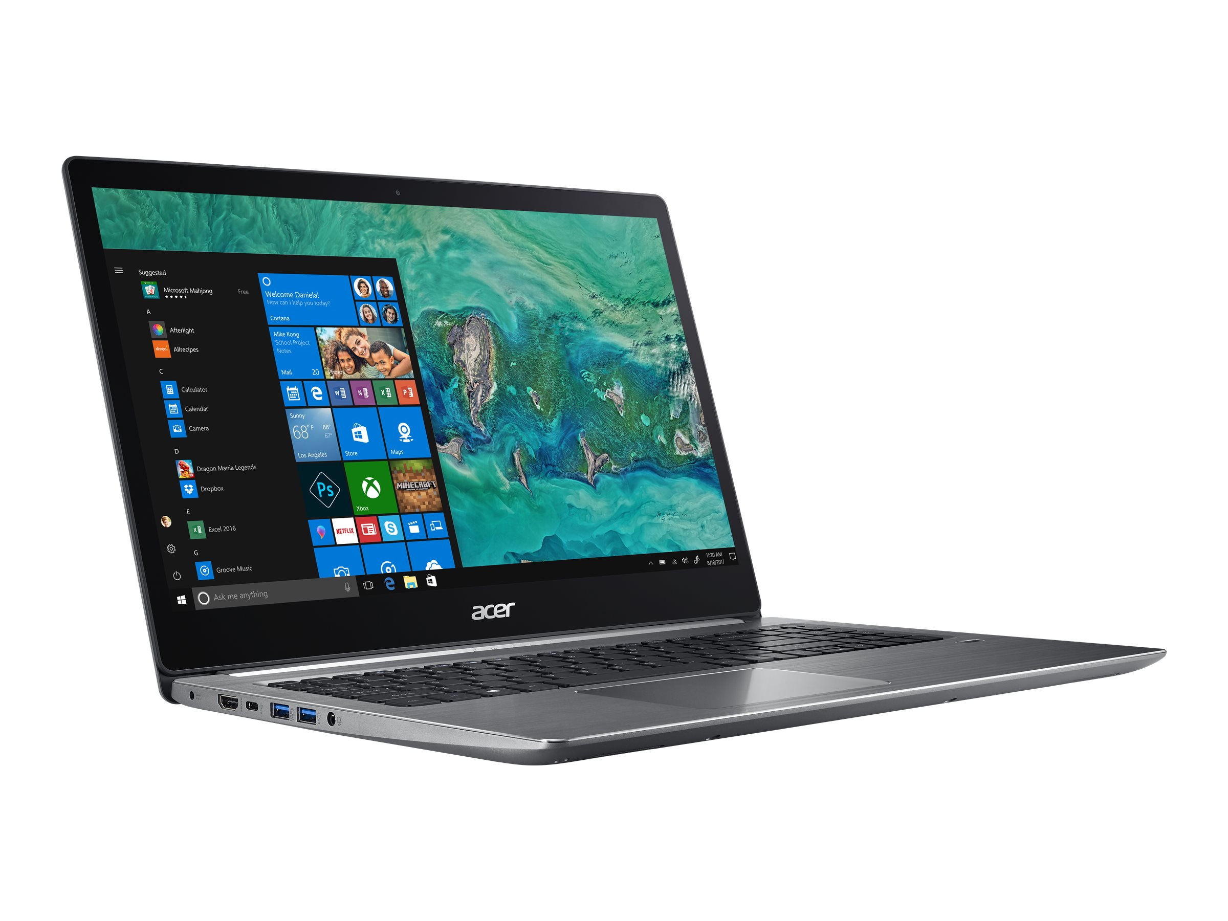 Acer Swift 3 15.6' 2200U 8GB 256GB Vega 3 Windows 10 Home 64-bit
