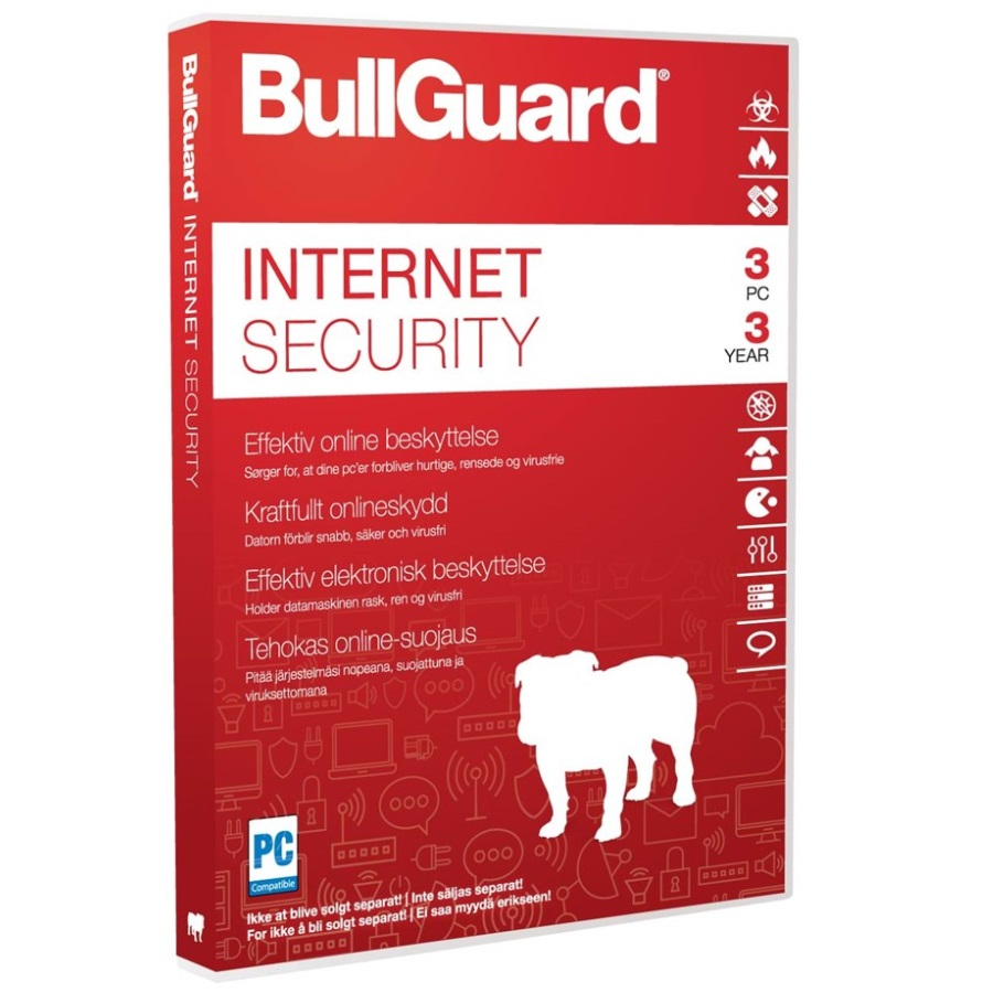 BullGuard Internet Security 2019 3Y/3 Device ESD