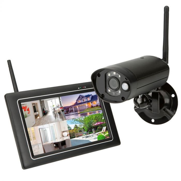 SEC24 Surveillance system with tablet and camera