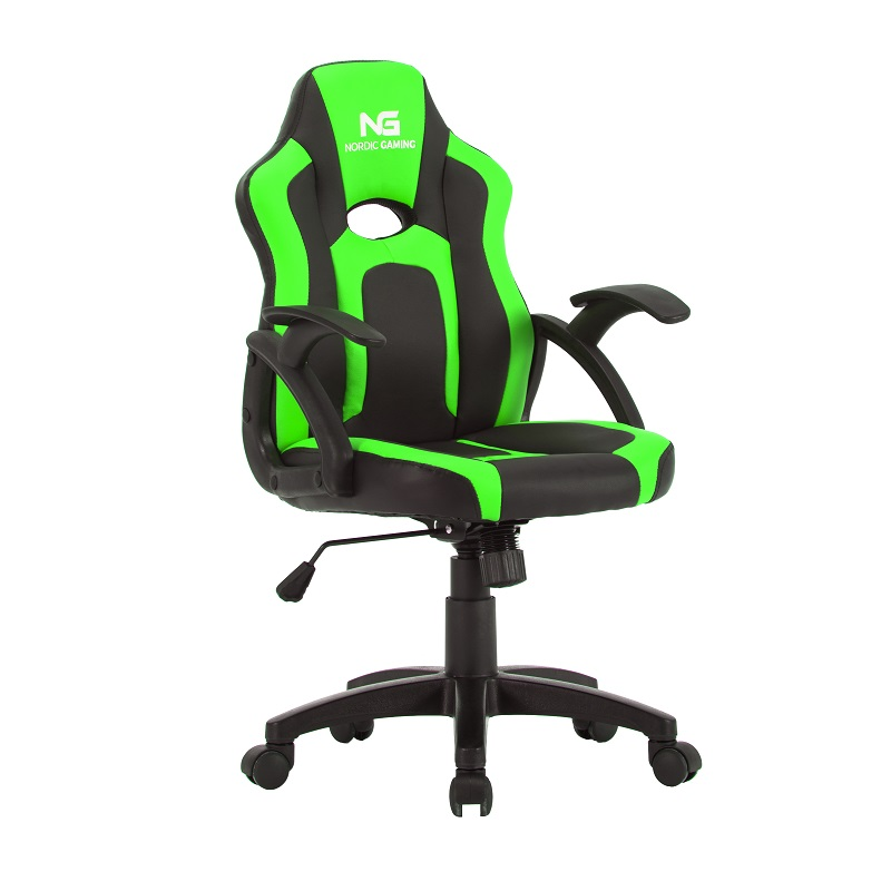 Nordic Gaming Little Warrior Gaming Chair Black Green