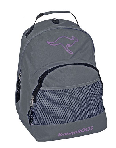 KangaROOS Smart Rygsaek 32x40x12cm Dark Grey