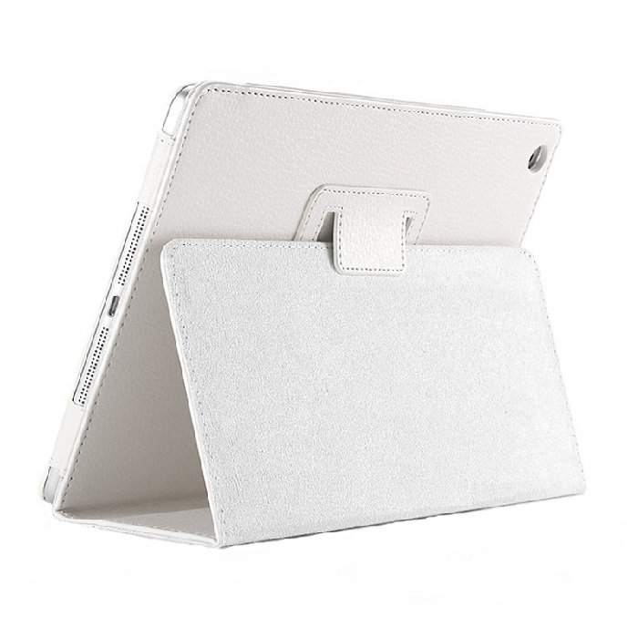iPad Smart Case Flip Cover PU Leather 2017/2018 White
