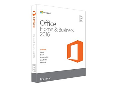 Microsoft Office for Mac Home and Business 2016 - Bokspakke - mediefri - Mac - Nordisk