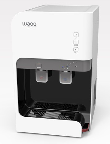 Waco Water Purifier Swarovski Design Hot/Cold bord model